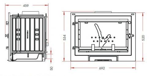 Eos 9770-00 teknik çizim